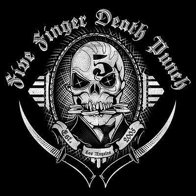 patch printed /Iron on patch,Back patch,Trellis Five Finger Death Punch,L'