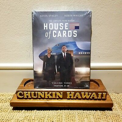 House of Cards: The Complete Third Season (DVD, 2015, 4-Disc Set) NEW / SEALED