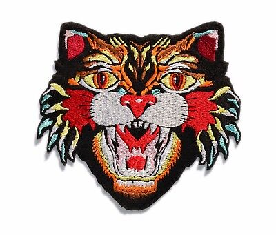 50a4917fe28ea BIG TIGER PATCH Embroider Tiger Face Jacket patch (Gucci inspared)