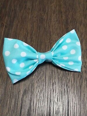 Mens Stylish Easter Spring Pastel Yellow Geometric Bowtie Bow Tie Clip-on USA