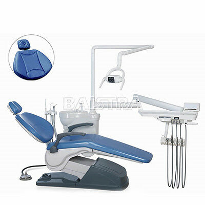 Dental Unit Chair Hard Leather Electric Computer Controlled X-Film DC Motor TOP