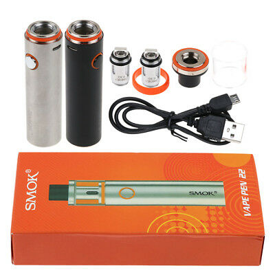 SMOK Vape-Pen 22 Box Kit with 1650mAh Battery 0.3ohm Tank Starter Kit Rainbow UK
