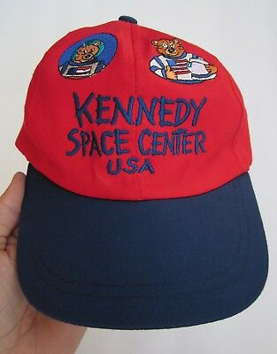 Nasa Kennedy Space Center Usa, Stretch Fit Youth Size, 100% Cotton, Hat Cap, Exc