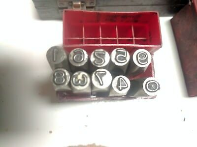 PRIORITY size 5mm number punch set