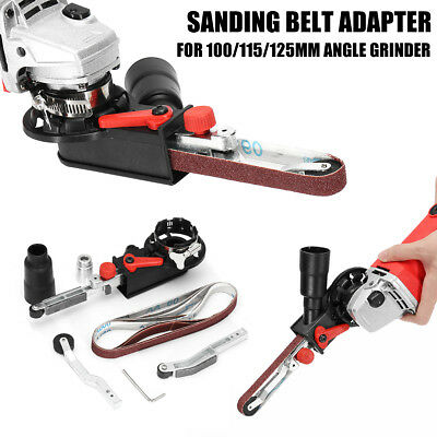 800W Max Sanding Belt Adapter Change Angle Grinder into Sander Sharpener Machine