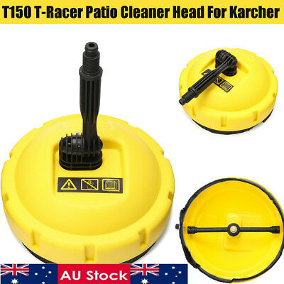 AU 150 T Racer Patio Cleaner Head Pressure Washer Attachment for Karcher T150
