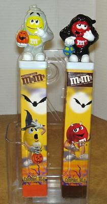 Pair of Mexico M&M's Halloween Toppers on Tubes