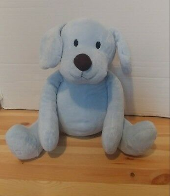 Piccolo Bambino Pb Baby Blue Puppy Dog Plush Stuffed Animal 15