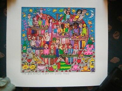 Rizzi James, original Litho 2002
