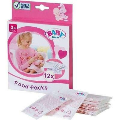 Zapf Creation Baby Born Doll Food 12 Pack
