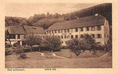 Rarity Very Old Photo AK Bad Krone Lower Bad Building Garden Black Forest