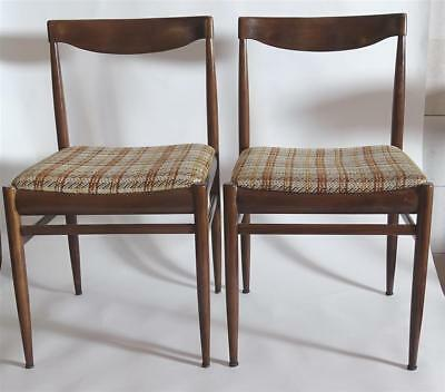 Danish Design Pair Original Mignon Möbel Chairs True Vintage 60/70er