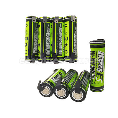 8pcs AA 1200mAh 1.2V Rechargeable Battery cell HyperPS with Tab NiMH