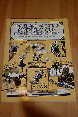 Design Vorlagen: Travel and Vacation Advertising Cuts from the Twenties and Thir