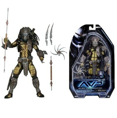 "NECA Predator Figure Temple Guard 7"" Scale Action - Series 15 Alien Vs AVP"