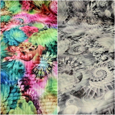 150cm wide Stretch Quilting Fabric Material 7 Colours Polyester Diamond