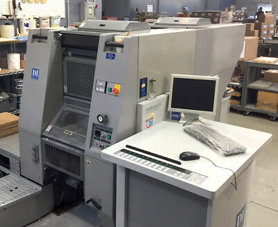 Presstek 34DI - Digital Offset Printing Press