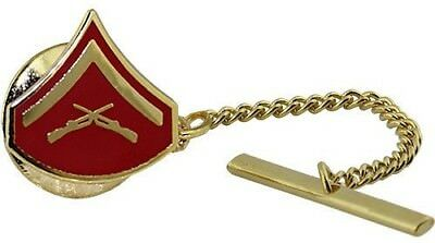 USMC Marine Corps Tie Tack Official Anodized Chevron Lance Corporal LCPL
