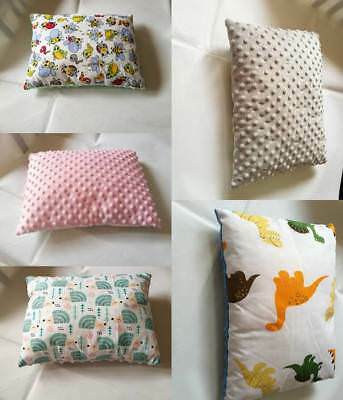 Reversible Minky and Cotton pillow 30x40cm