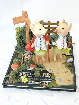 Beatrix Potter ~ Westminster Editions ~  Pigling Bland Tableau ~ Limited Edition