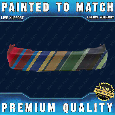 Primered MBI AUTO TO1100204 Rear Bumper Cover for 2002-2006 Toyota Camry Sedan 02-06
