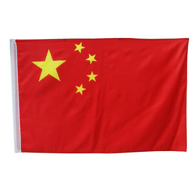 China Fahne Flagge 90x150cm CHINESISCHE FAHNE Hissflagge Wetterfest