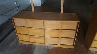 Heywood Wakefield Furniture Lot Blonde Wheat Antique Pick Up Only