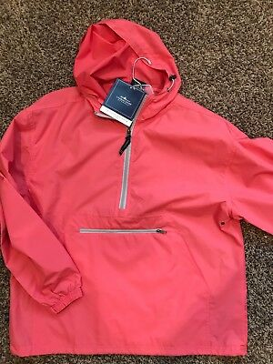 Charles River Apparel-ADULT PACK-N-GO® PULLOVER-CORAL