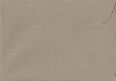 Taupe 114mm x 162mm Peel/Seal 100gsm C6/A6 Paper Coloured Envelopes