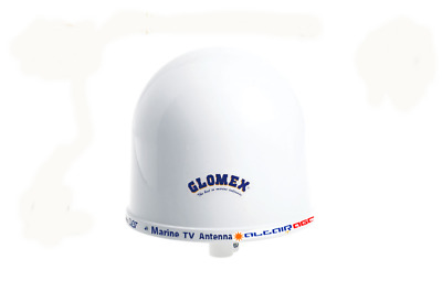 "Glomex V9126AGC 10"" TV Antenna Dome With Automatic Gain Control"