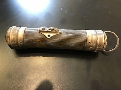 Vintage Flashlight Shurlite Sears , Roebuck And Co Worlds Largest Store