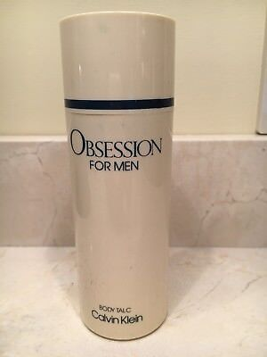 Vintage Obsession For Men Body Talc 3.5 oz by Calvin Klein New No Box