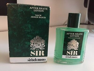 Vintage, Retro SIR Irisch Moos After Shave Lotion 100ml