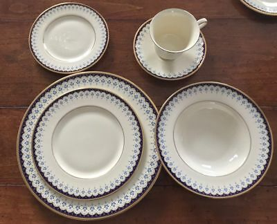 Minton - Consort 6 Piece Place Setting, Service For 1