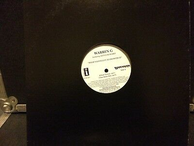 "Warren G 12"" Whats Love Got To Do With It * Rare Promo * Mint"