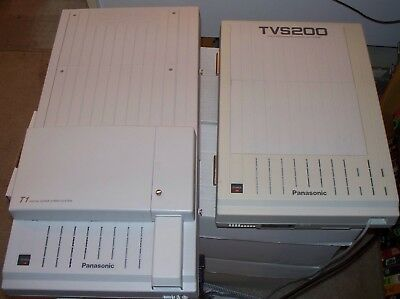 Panasonic  KX-D1232 phone system with TVS200 Voicemail. Working system.