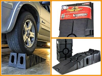 Automotive Car Trailer Ramps Lift Rhino Service Tool For Low Profile Oil Change