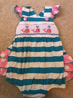 smocked bubble 2t