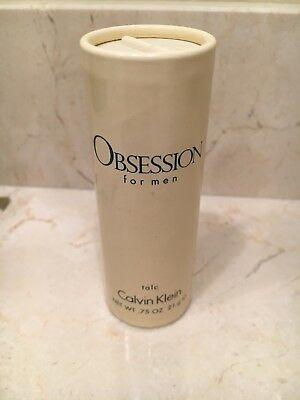 Vintage Obsession For Men Talc .75 oz by Calvin Klein New No Box