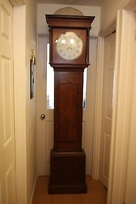 Antique Early 19th Century Hallam Grandfather Clock for Mechanical Restoration