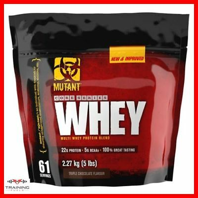 Mutant Whey 908g, 2.27kg Extreme Multi Whey Protein Mega Blend Muscle Size