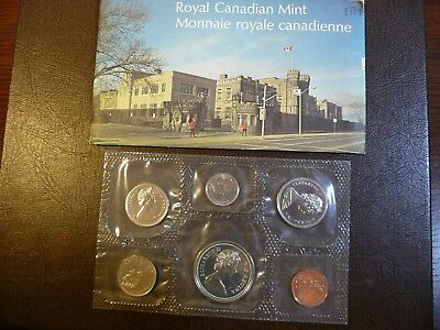 1974 Canadian Mint Prooflike 6 Coin Set