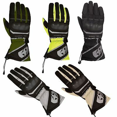 Oxford Montreal Waterproof Winter Textile Motorcycle Touring Gloves