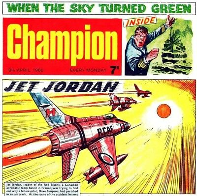 TORNADO & CHAMPION UK Vintage Comic Collection on DVD - UK Magazines & Comics