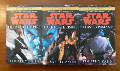 Star Wars Thrawn Trilogy w/new cover painting Heir to the Empire shipped in box