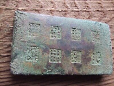 CHINA.  SUNG DYNASTY.  12th/13th CENTURY   BRONZE ARMOUR SECTIONS.  VERY RARE.