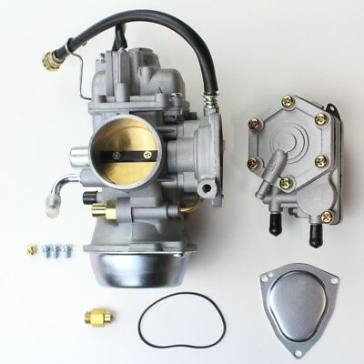 Polaris Scrambler 500 Carburetor and Fuel Pump Assembly 1998-2010