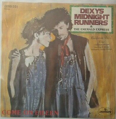 """Dexys Midnight Runners  7""""  """"Come on Eileen""""   KULT  VG!!!"""
