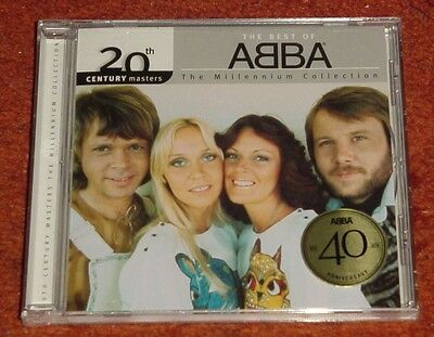 New Sealed Best Of Abba The Millennium Collection 40Th Anniversary Cd Free Ship