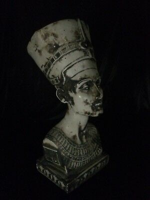 RARE ANCIENT EGYPTIAN ANTIQUE Egypt Statue NEFERTIT Queen Head STONE 5kg BC